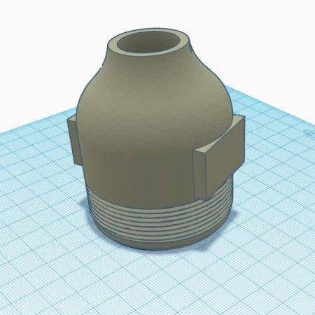 Сопло форсунки градирни напечатанное на 3D принтере
