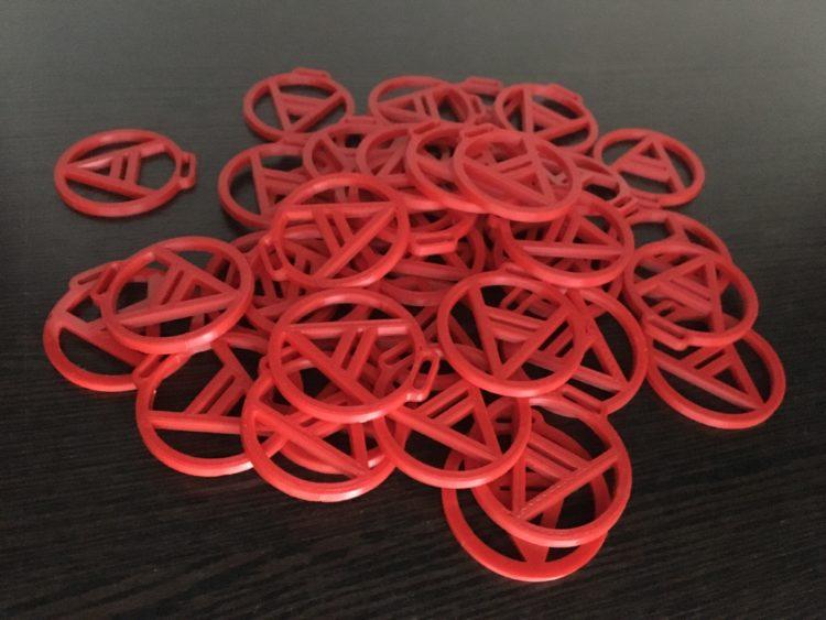 Талисман Велес. 3D печать