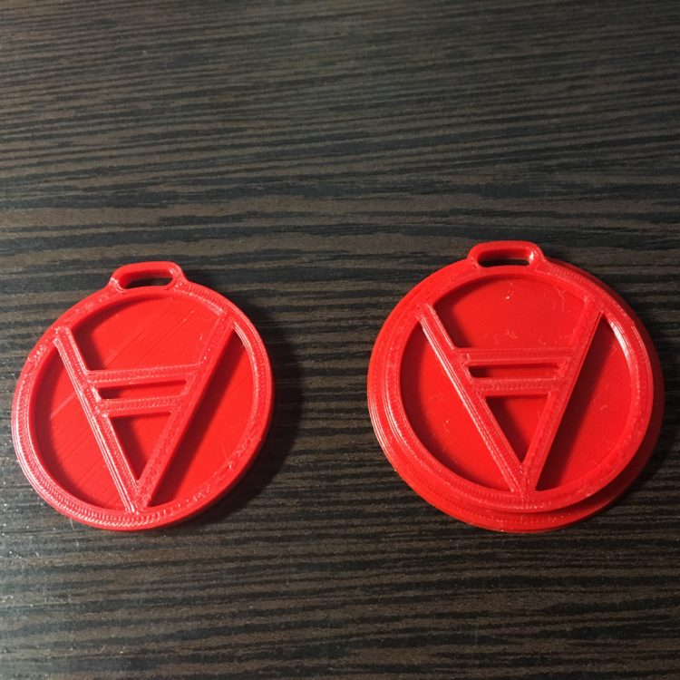 Талисман Велес. Напечатано на 3D принтере