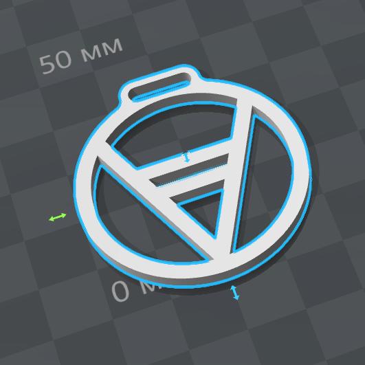 3D модель талисмана Велес