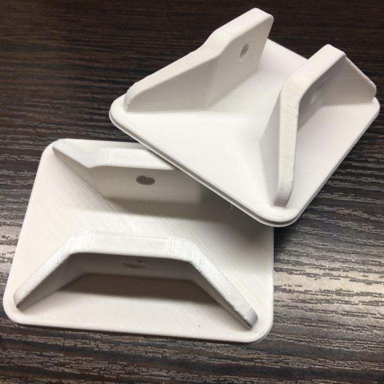 Кронштейны катышки металлоискателя выполненные с помощью 3D печати