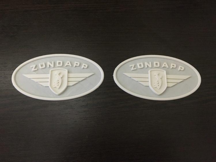 3D печать эмблемы мотоцикла Zundapp