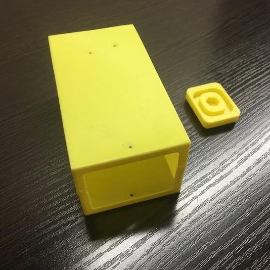 3D печать корпуса видеокамеры