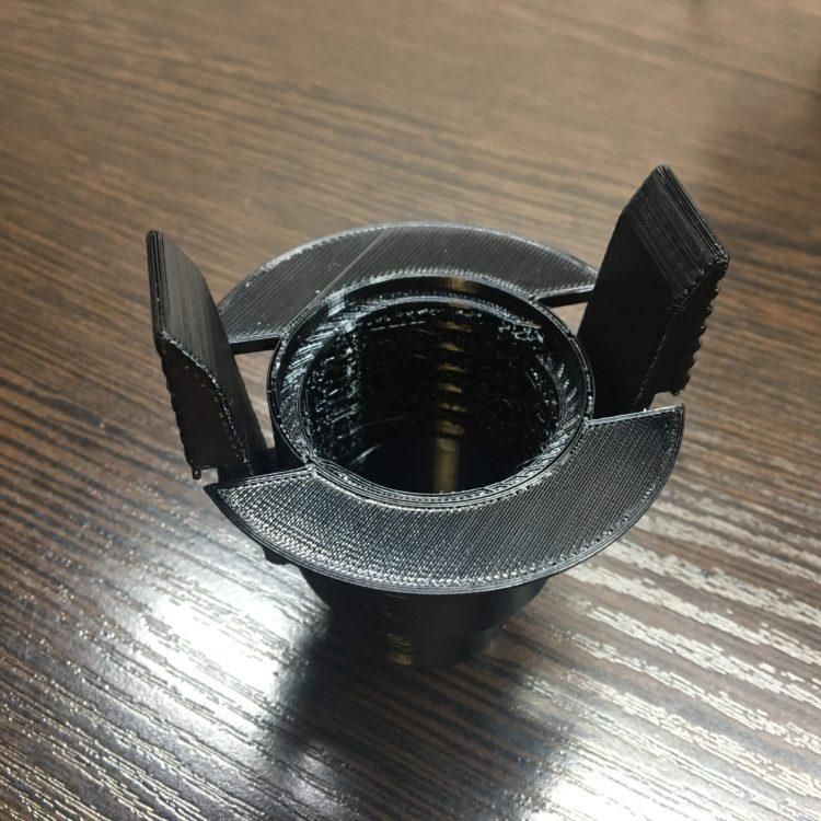 3D печать держателя шланга пылесоса в Орске