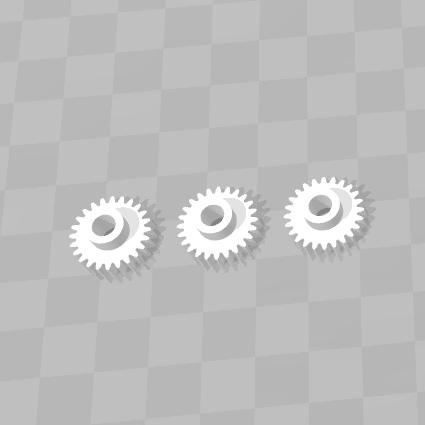 3D печать шестерни купюроприемника
