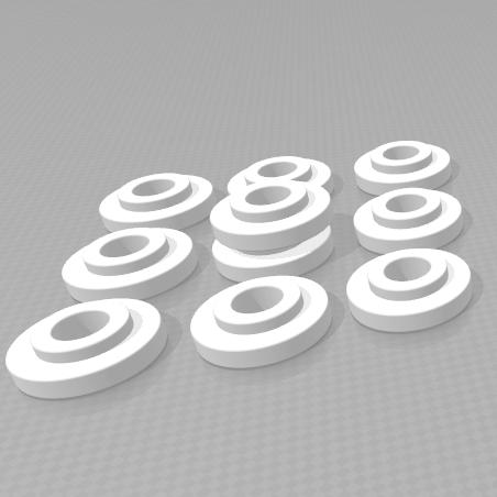 3D печать втулки вала ризографа