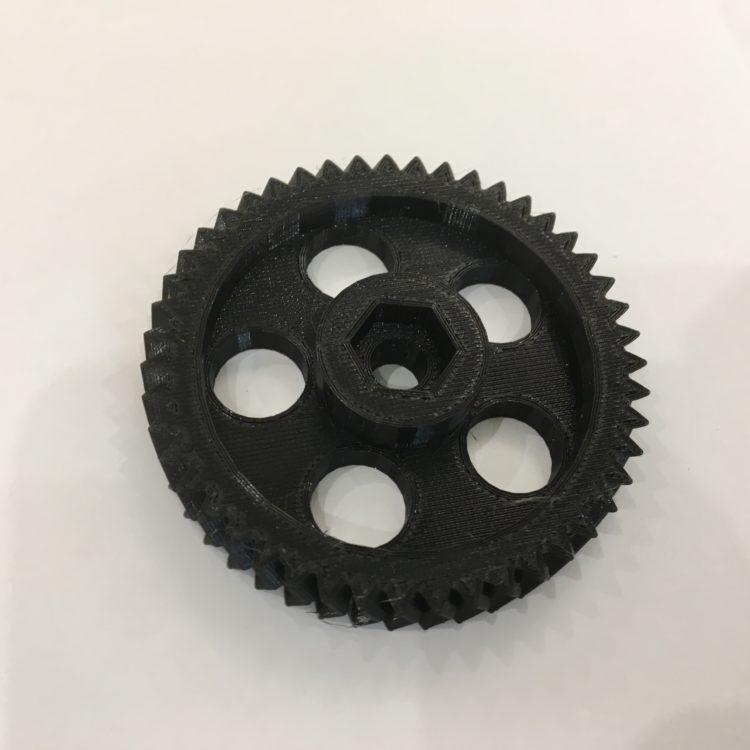 3D печать элементов экструдера