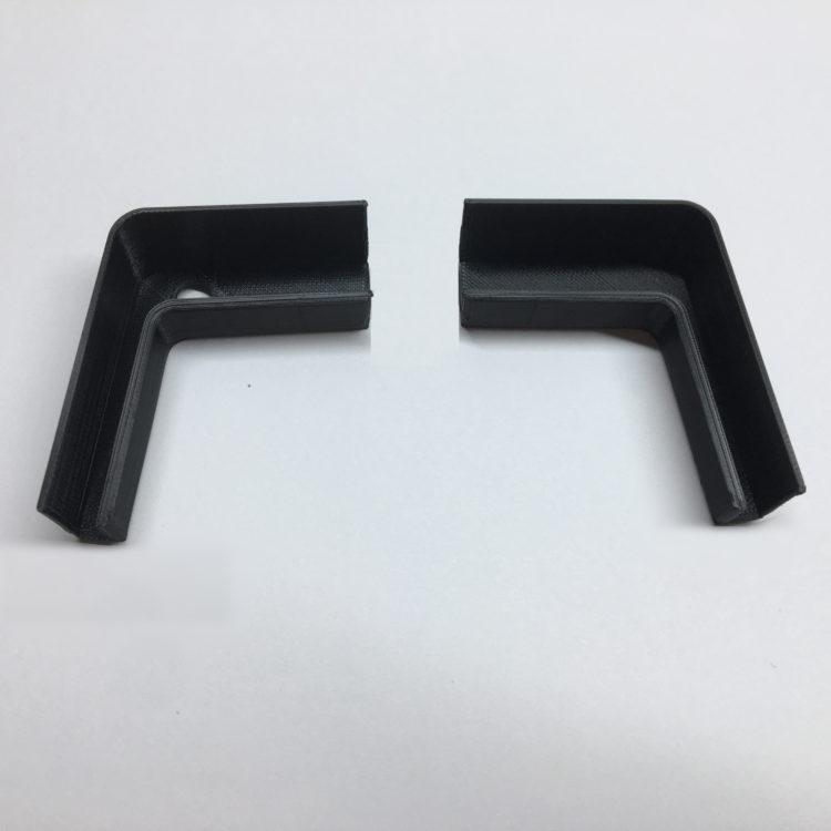 3D печать держателей крышки ноутбука