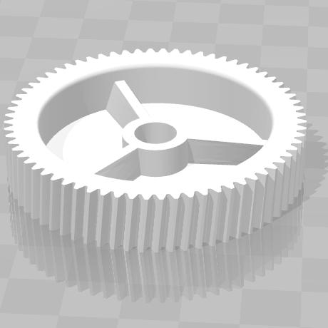 3D печать шестерни стеклоподъемника