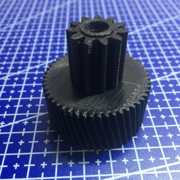 3D печать шестерни для мясорубки Moulinex