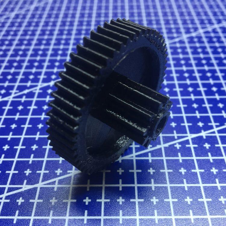 3D печать шестерни редуктора электрокара