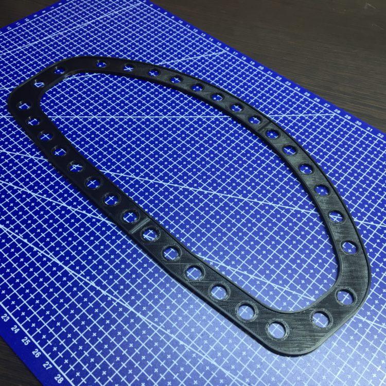 3D печать держателя катушки металлоискателя