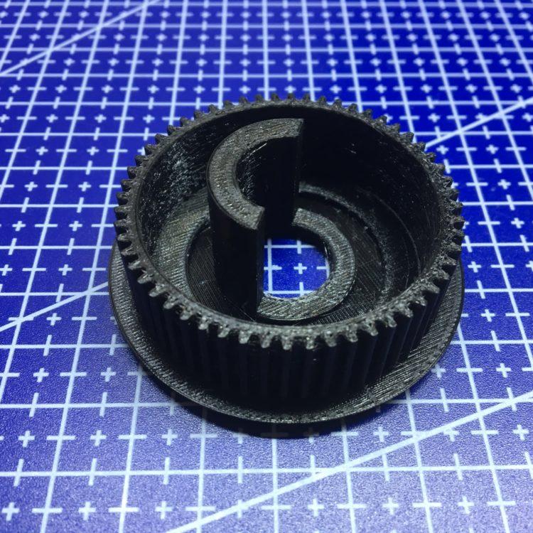 3D печать шестерни привода антенны автомобиля