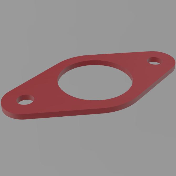 FDM печать прокладок опор амортизаторов Lada Vesta