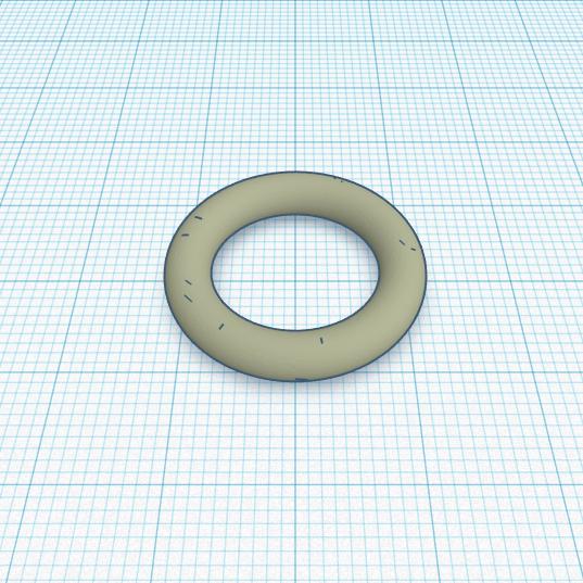 3D печать резиной уплотнительного кольца гидроцилиндра