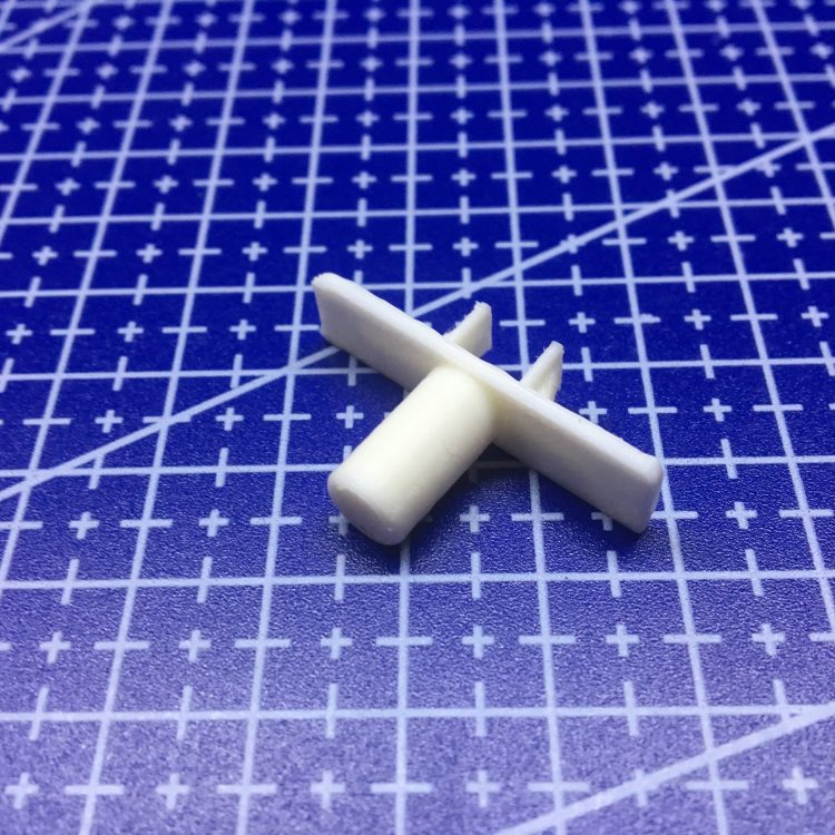 FDM печать переключателя кухонной вытяжки