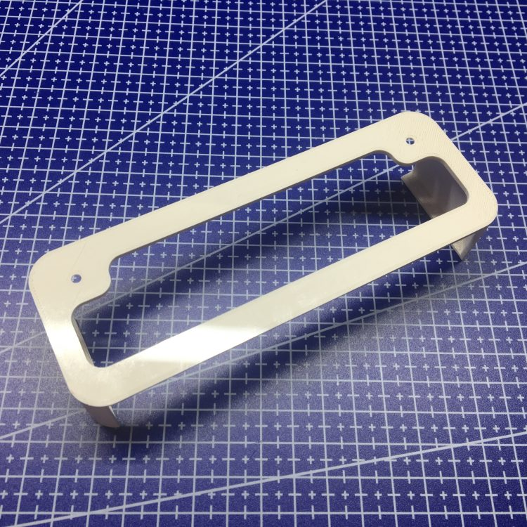 3D печать кронштейна коммутатора DLINK DES-1008A.E1E