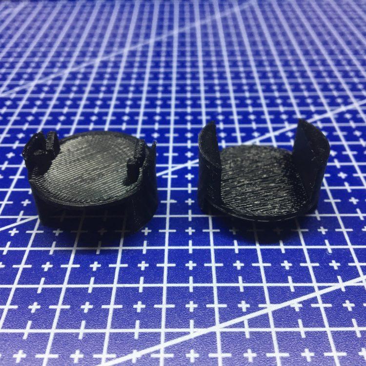 3D печать крышки корпуса вибродатчика