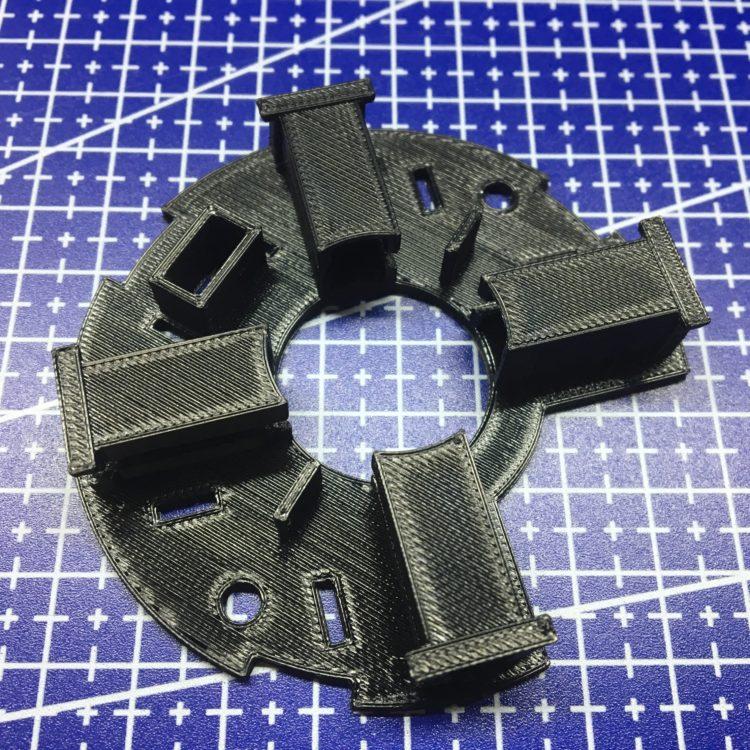 3D печать щеткодержателя электродвигателя