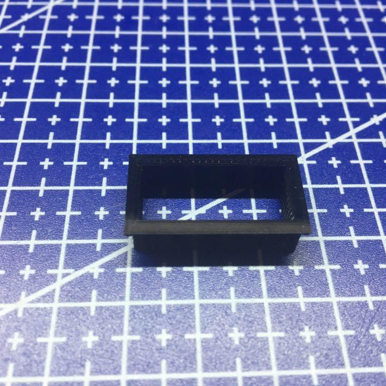 3D печать корпуса цифрового вольтметра