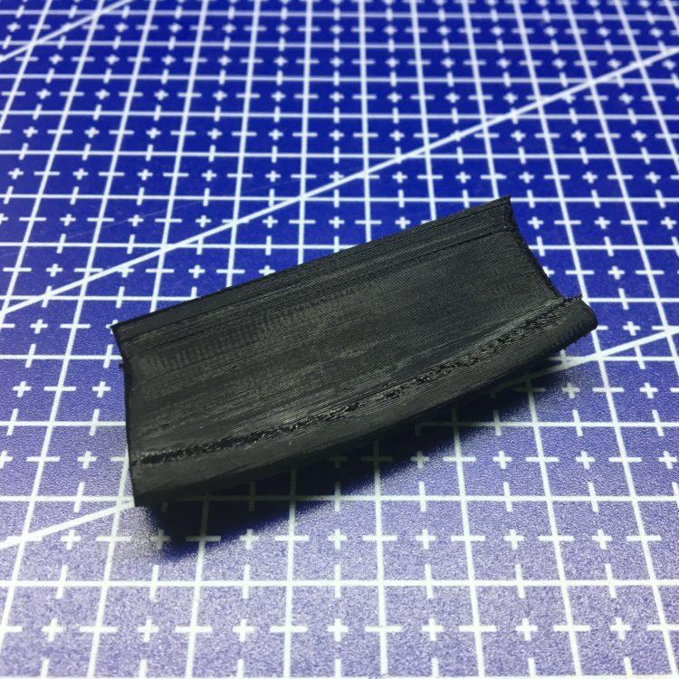 3D печать фиксатора крышки центральной консоли автомобиля Opel