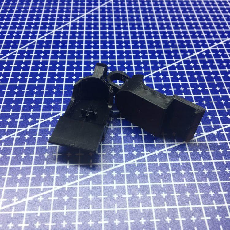3D печать фиксатора шланга пылесоса
