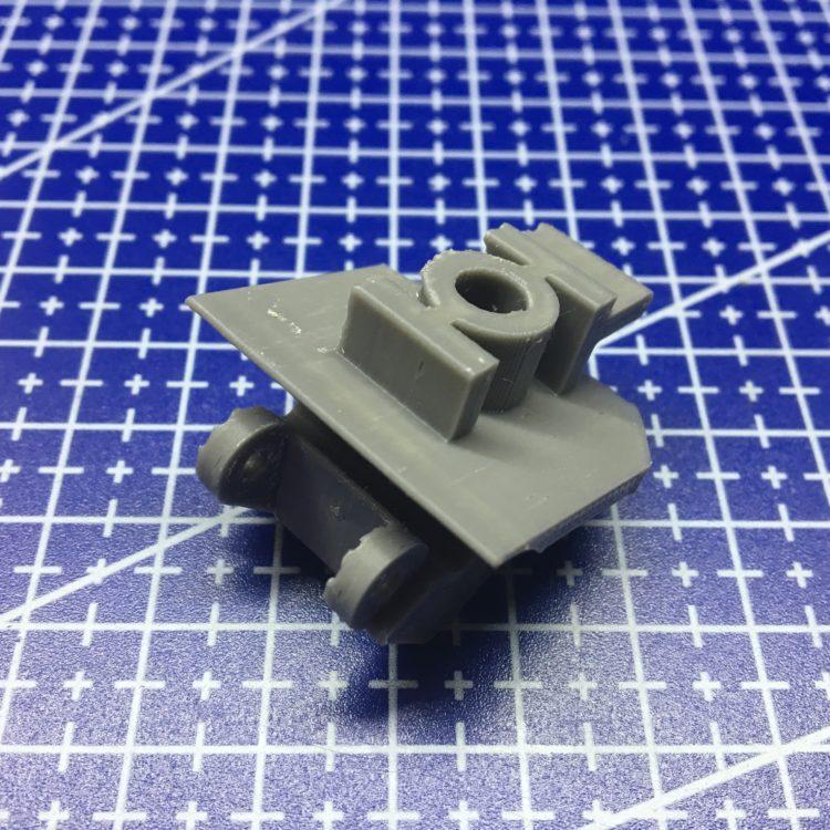 3D печать держателя ручки автомобиля Фиат