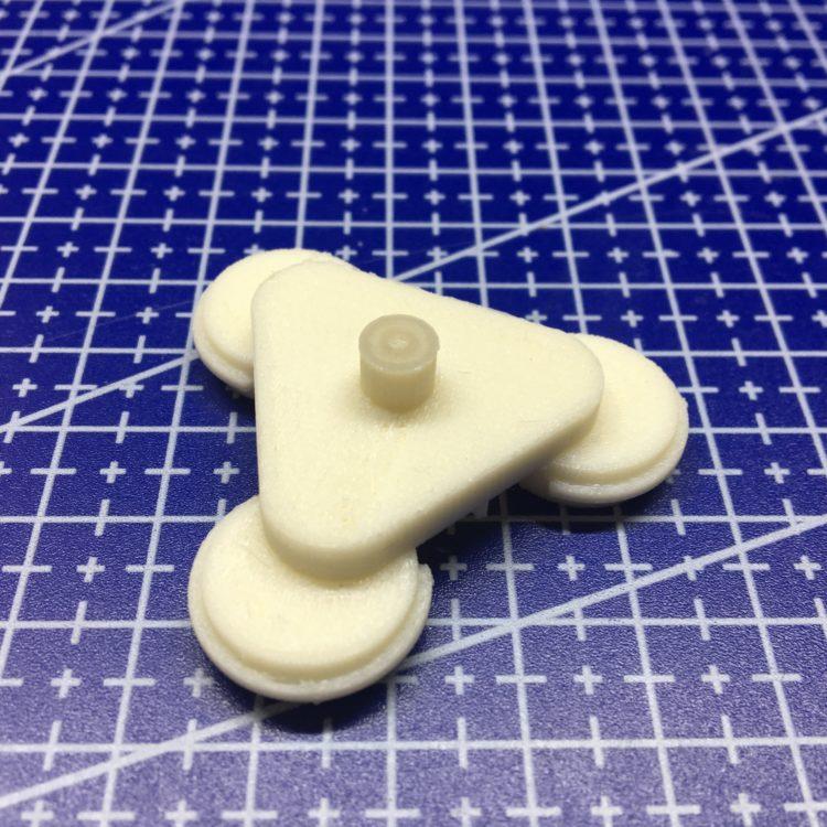 """3D печать колеса игрушки """"Луноход"""""""
