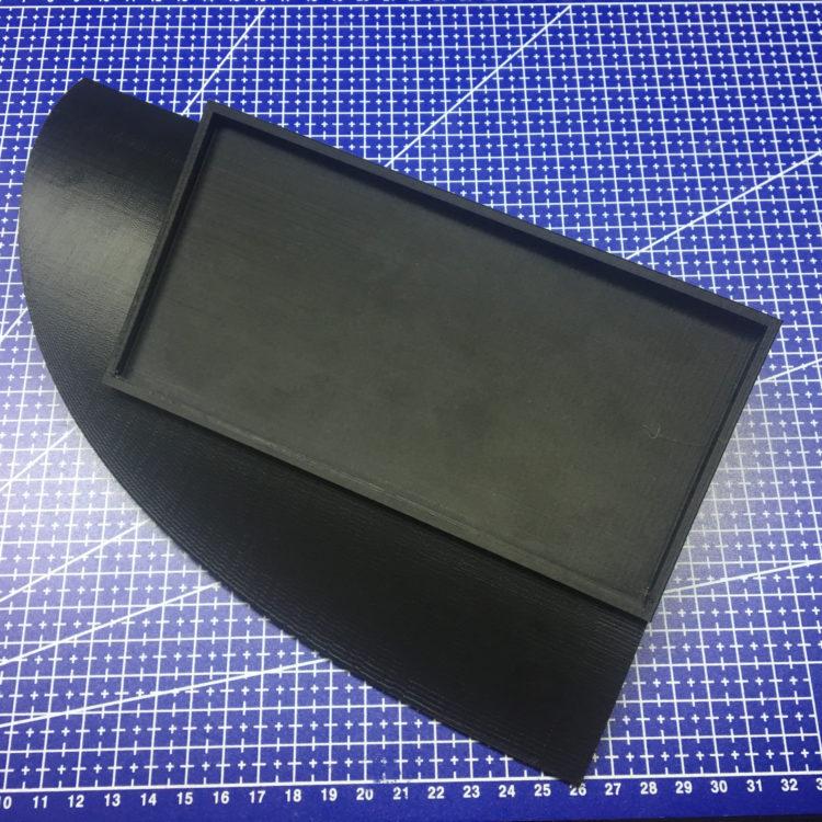 3D печать накладки на торпеду Opel Vectra