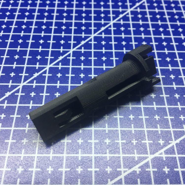 3D печать штока управления отопителем Lada Granda