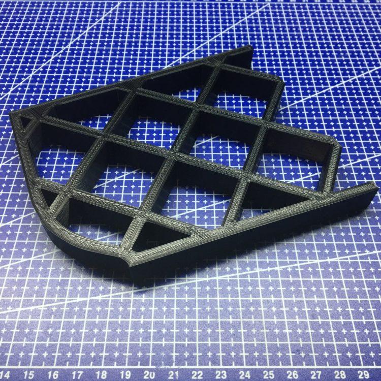 3D печать мастер-модели подножки снегохода