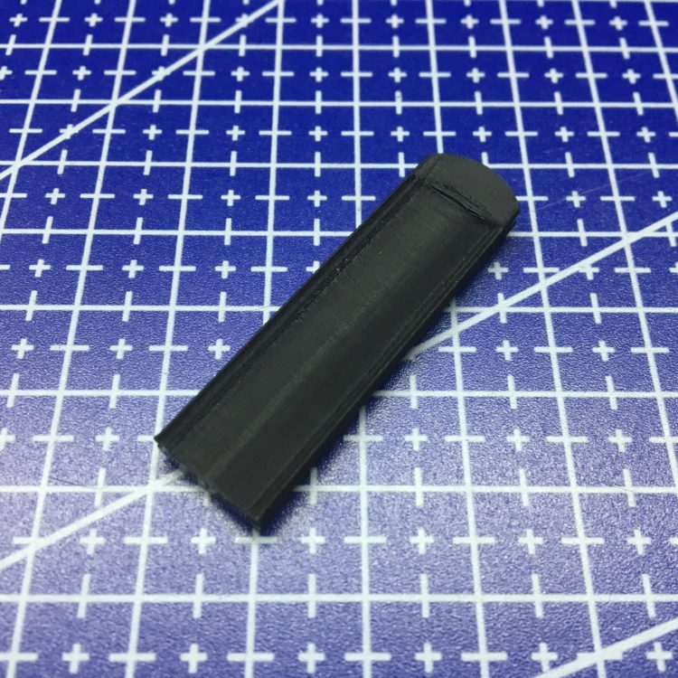 3D печать крышки пульта автосигнализации
