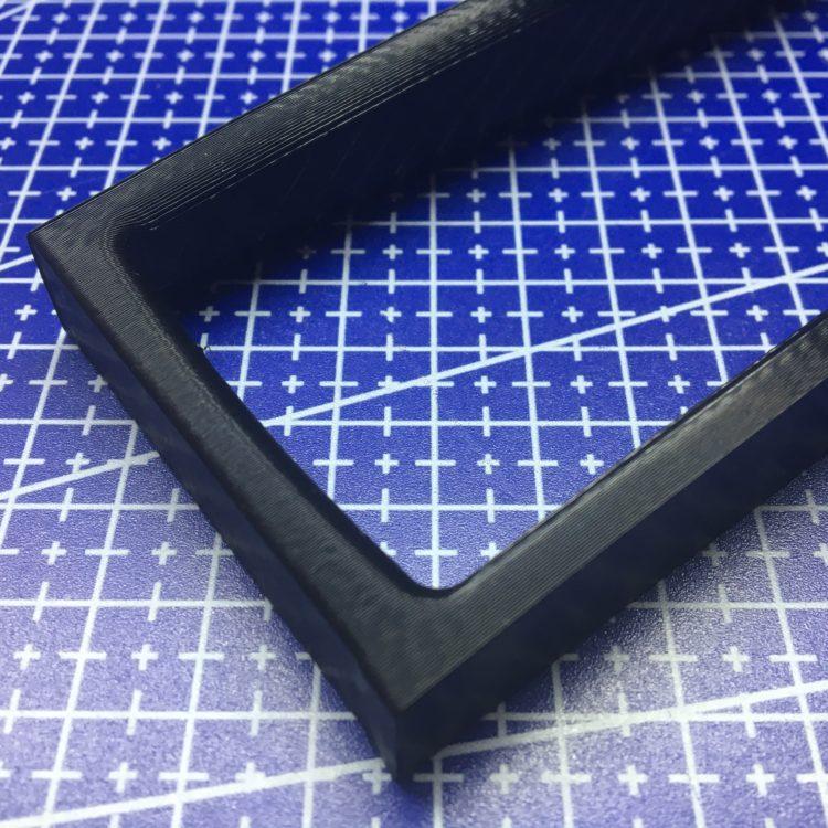 3D печать рамки автомагнитолы