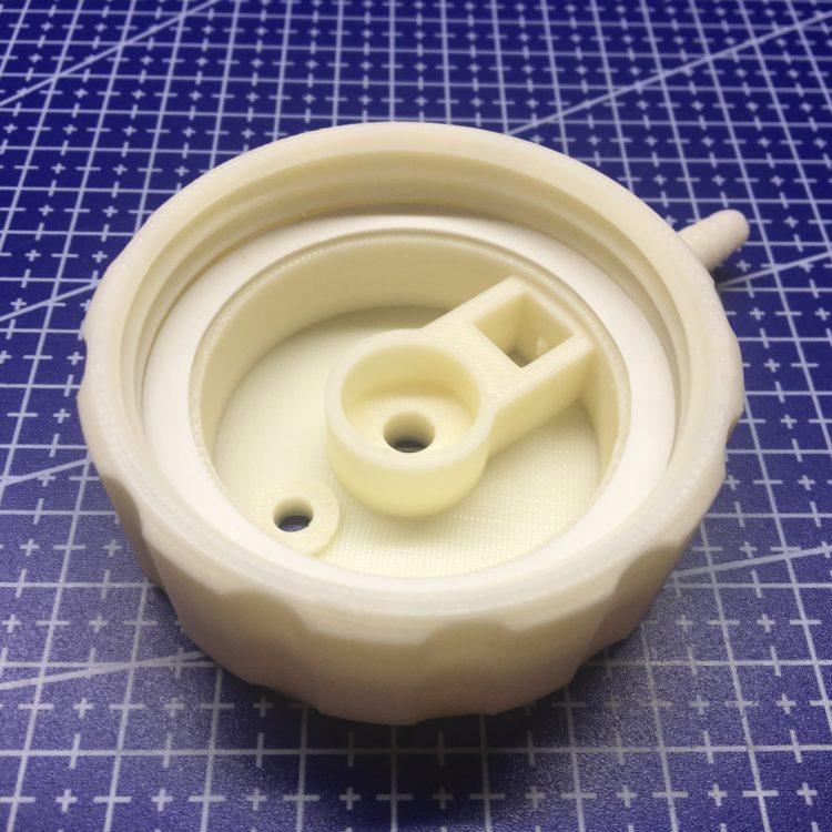 3D печать крышки увлажнителя кислорода
