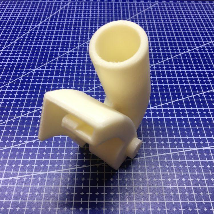3D печать пылеуловителя для болгарки