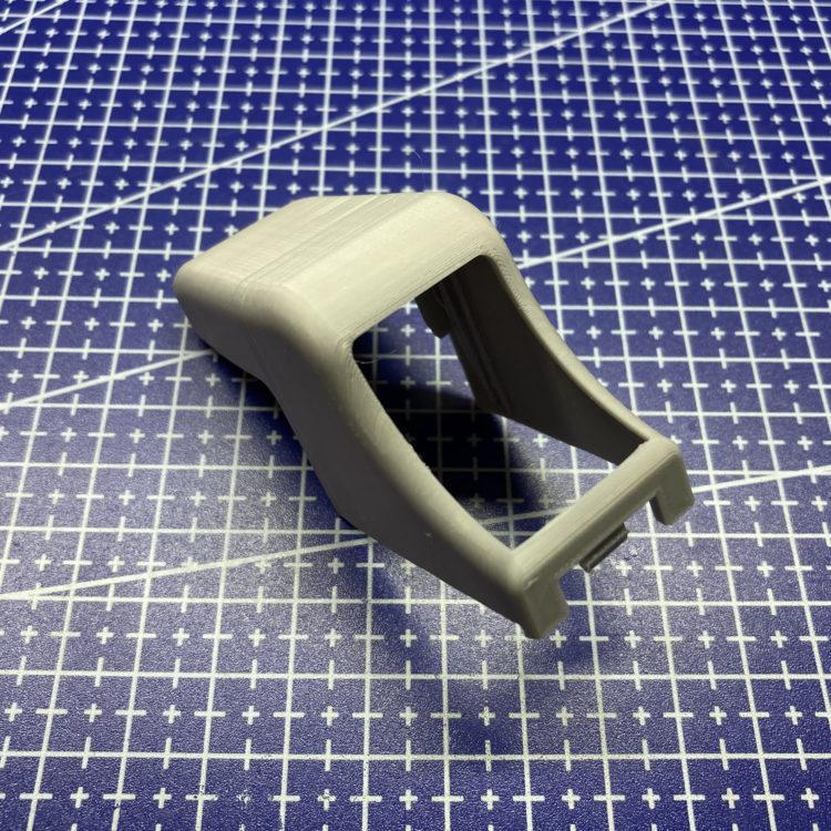 3D печать заглушки ремня безопасности Nissan Almera