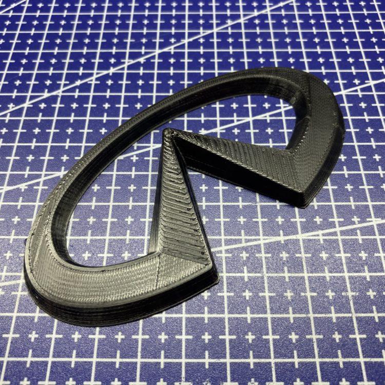 3D печать логотипа для автомобиля