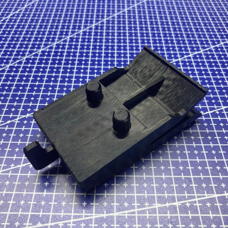 3D печать держателя бампера автомобиля Lexus