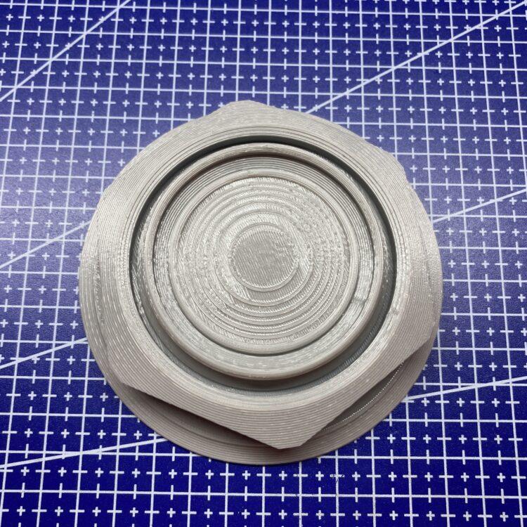 3D печать колпака автомобильного диска