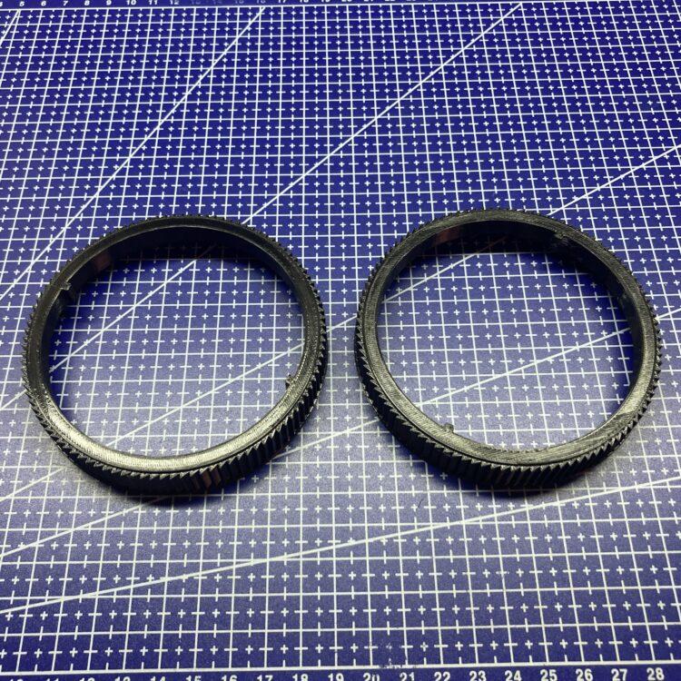 3D печать поворотных колец спринклерной пушки