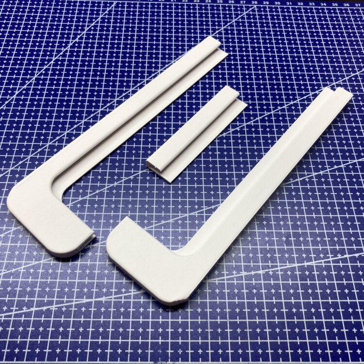 3D печать рамки полки холодильника