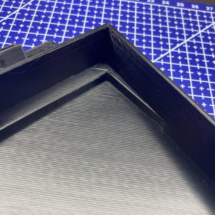 3D печать рамки-переходника автомобильной магнитолы